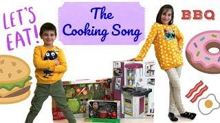 The Cooking Song | Ingrid Surprise Rhymes & Kids Songs