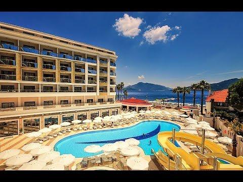 Hotel Golden Rock Beach Turcja / Marmaris - YouTube