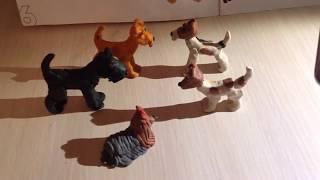 Собаки из пластилина#2.(Терьеры)