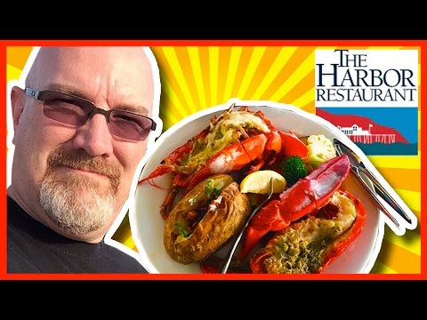 The Harbor Restaurant Lobster Feast from Santa Barbara, California USA