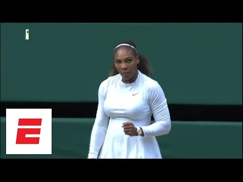 Wimbledon 2018 Highlights: Serena Williams rolls into final with win over Julia Goerges | ESPN