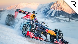 12 crazy stunts Red Bull did with F1 cars
