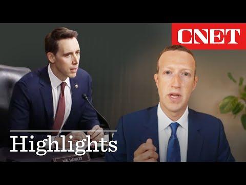 Republican Senator GRILLS Zuckerberg on Facebook, Google, and Twitter collaboration