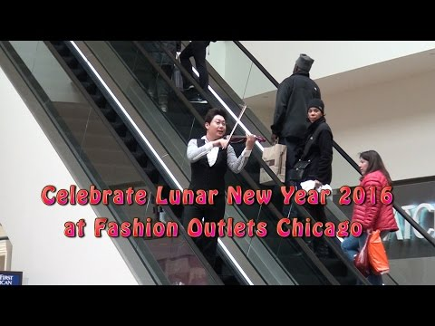 Celebrate Lunar New Year 2016 at Fashion Outlets Chicago