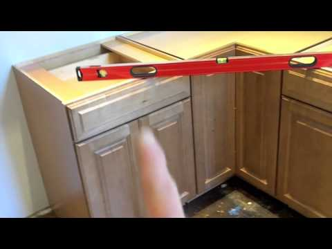 Custom kitchen remodel hanging cabinets 12 youtube - Factory seconds kitchen cabinets ...