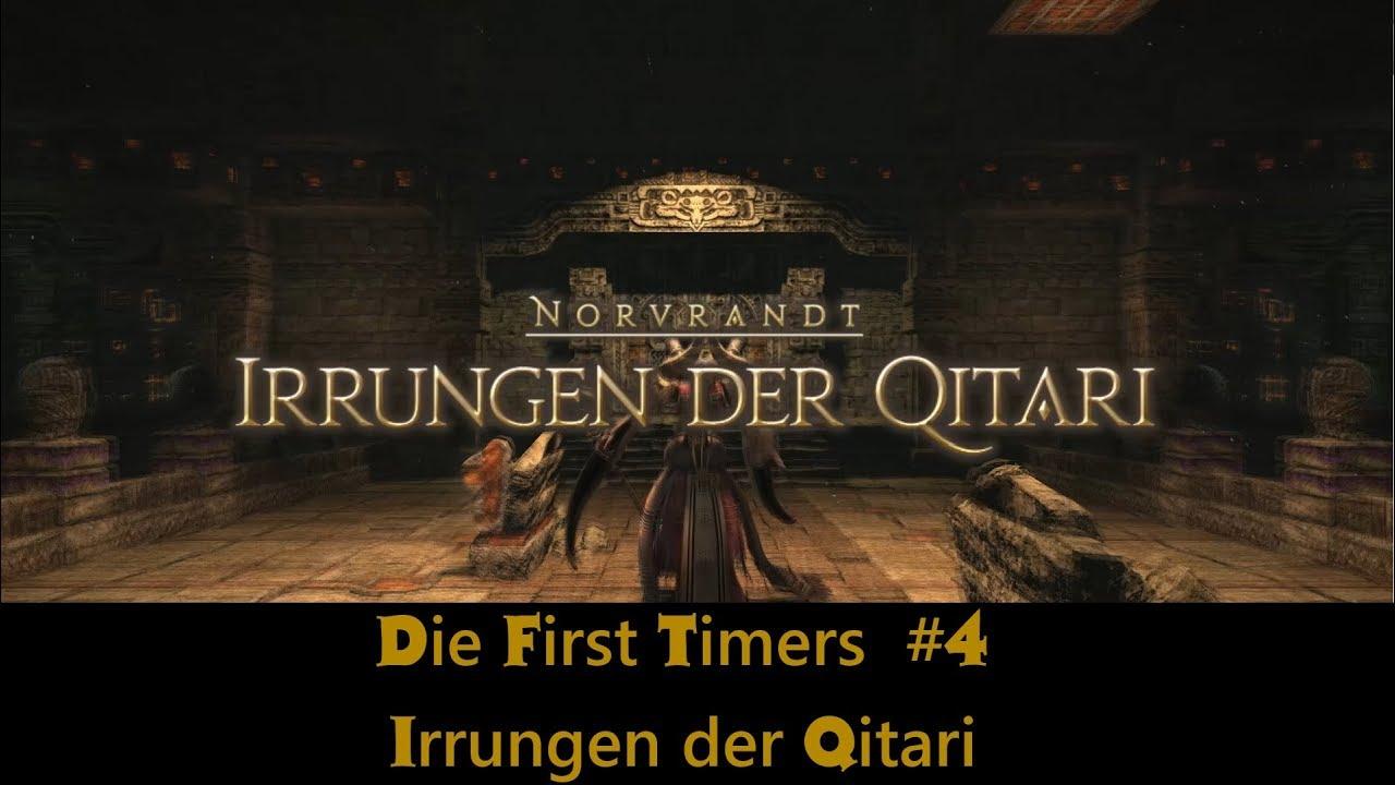 Die First Timers #4: Irrungen der Qitari [DEUTSCH FFXIV Shadowbringers  SPOILER]]