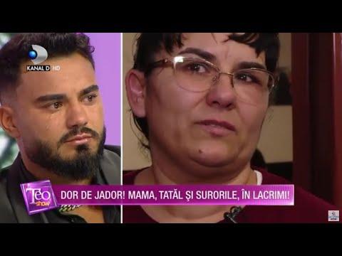 Teo Show(27.04.) - EXCLUSIV   Jador se destainuie! Prin ce clipe grele a trecut alaturi de familie?