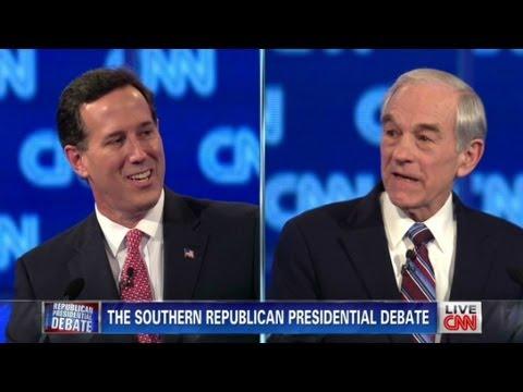 Paul, Santorum spar on abortion issue