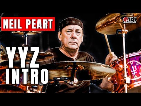 Neil Peart YYZ Intro Breakdown | YYZ by Rush | DRUM LESSON