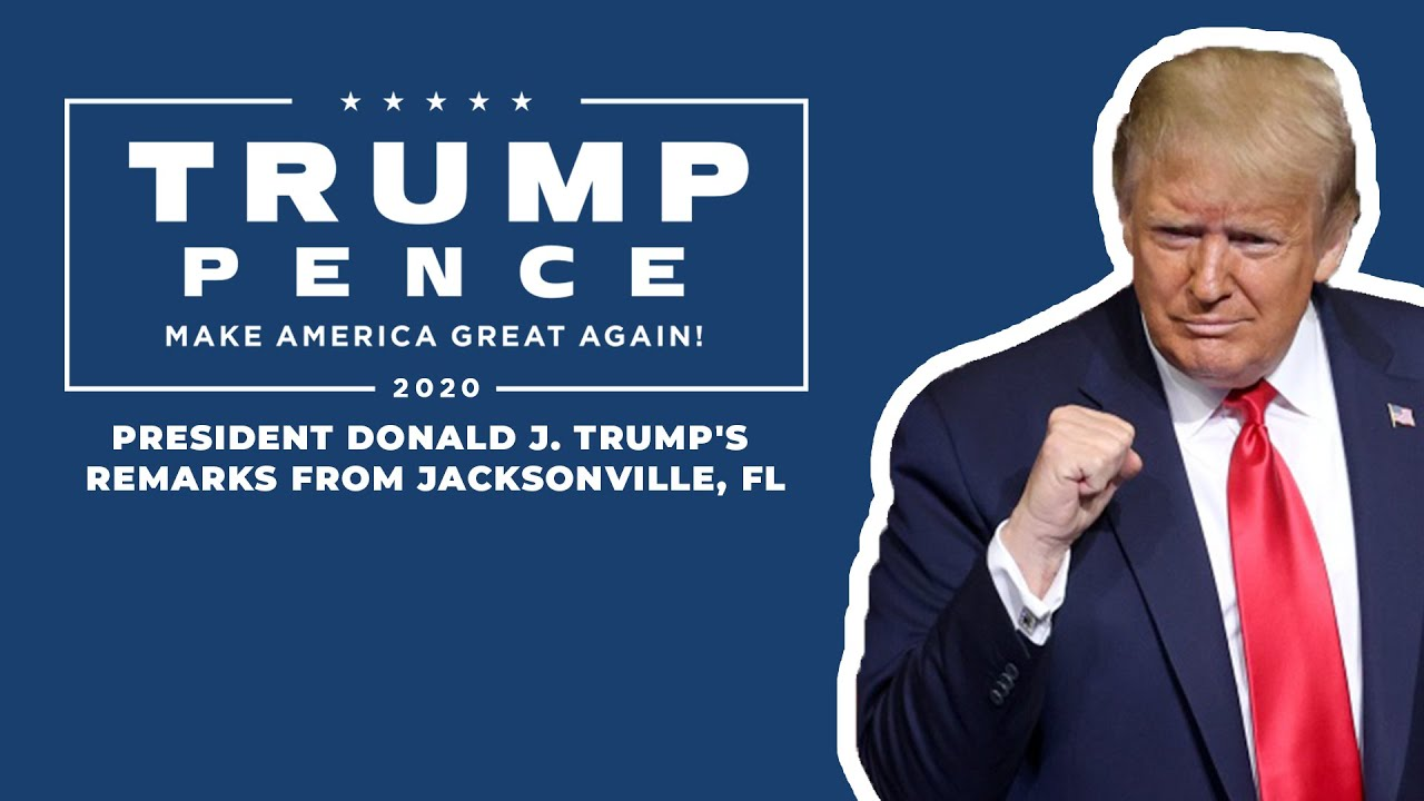 LIVE: President Donald Trump in Jacksonville, Florida