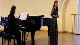 видео Елизавета Бокова. Открытый урок по вокалу