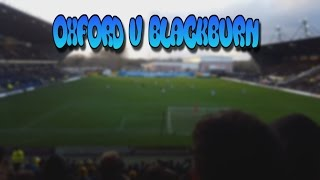 Video Gol Pertandingan Oxford United vs Blackburn Rovers