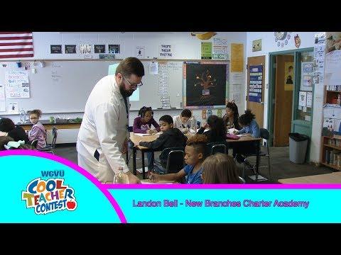 Cool Teacher Landon Bell, New Branches Charter Academy