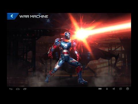 Marvel Future Fight: 6 Star War Machine In Depth Review