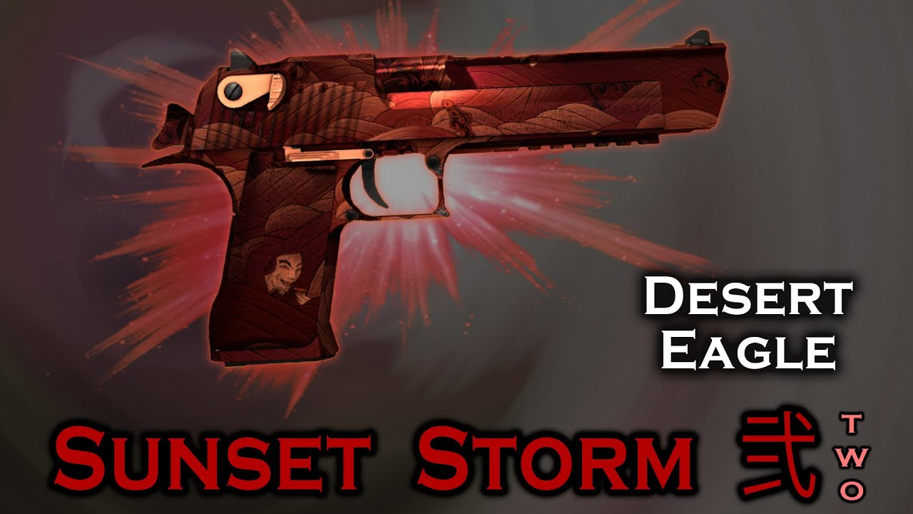 Desert Eagle Sunset Storm