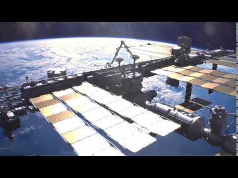ISS station VFX CGI 2017