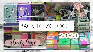 BACK TO SCHOOL 2020 Покупаю канцелярию в школу Стади виз ми Учись со мной Покупки канцелярии