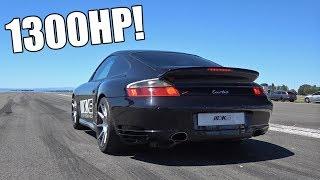 1300HP Porsche 996 Turbo KKS Performance 0-313 Km/h Accelerations