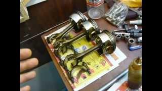 Переделка двигателя Приоры на безвтыковые поршни