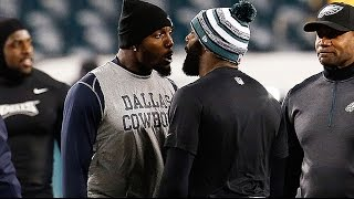 Dez Bryant & Malcolm Jenkins Go Off On Each Other Before Game
