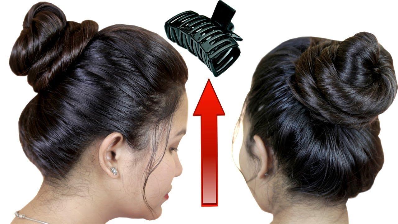 30 Secs Clutcher Juda Hairstyles Bun