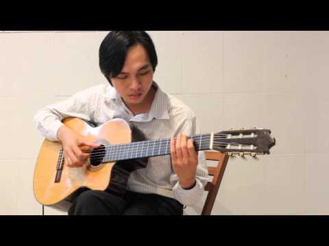 Diễm Xưa (Trịnh Công Sơn) - 美しい昔 (Nhạc Trịnh Công Sơn) - Guitar Solo - Guitarist Nguyễn Bảo Chương