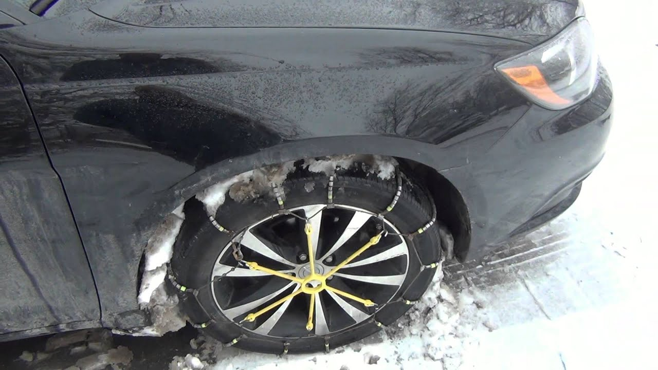 Are Snow Chain Illegal To Use Where You Live?