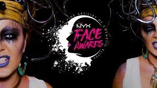 NYX FACE AWARDS MÉXICO ENTRADA- 2017   CAROL LYNN MADRID - MEDUSA
