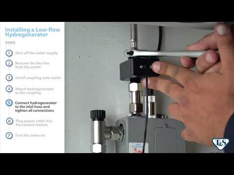 How To: Installing A Low-Flow Hydrogenerator On A Below-Deck Sensor Faucet