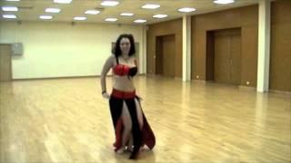Danse Orientale Nancy Ajram Ya tabtab Chorégraphie débutant moyen