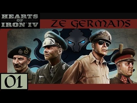Intro and Overview - Let's Play Hearts of Iron IV (HoI4): Ze Germans #01 - Veteran Difficulty