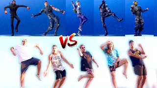 FORTNITE DANCES IN REAL LIFE W/ PROFESSIONAL DANCERS!