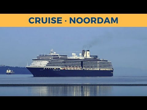 Arrival of cruise ship NOORDAM in Vancouver (Holland America Line)