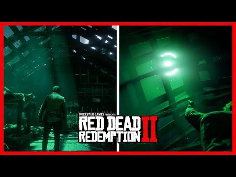 Red Dead Redemption 2 Alien UFO Easter Egg - RARE Loot Found, UFO Discovered & MORE! (RDR2)