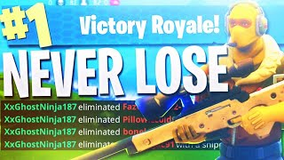 TOP FORTNITE PLAYER #1 SOLO WIN STREAK!! (Fortnite Battle Royale PS4 Gameplay)