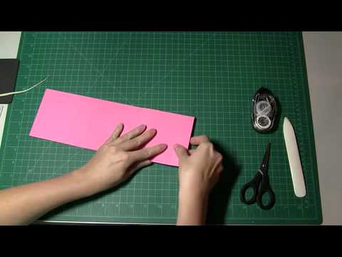 Stamping and Paper Crafts: How to make a Scrapbook Album.m4v