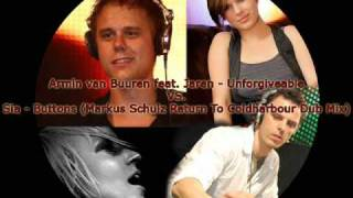 Armin van Buuren feat. Jaren vs. Sia - Unforgivable Buttons (Tikai Mashup)