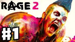 Rage 2 - Gameplay Walkthrough Part 1 - Intro! New Ranger Battle at Vineland! (PC)