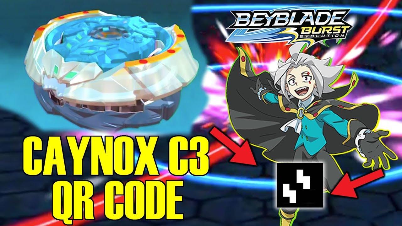 Deep Caynox C3 Free Qr Codes Beyblade Burst Evolution App Youtube