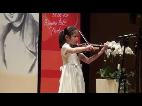 Song, Yoonsuh, geb 2008, Violine - G. Perlman, Concertino 1. Satz
