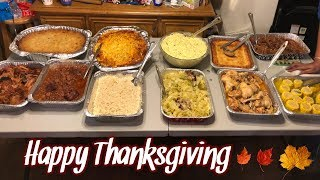 Vlog: Happy Thanksgiving 2018 🦃🍁🍽