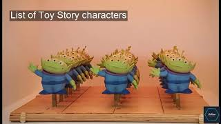 List of Toy Story characters : Who, what and where? | SoKnow
