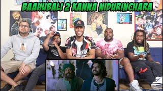 Baahubali 2 Video Songs Telugu   Kanna Nidurinchara Video Song  Prabhas,Anushka Bahubali REACTION