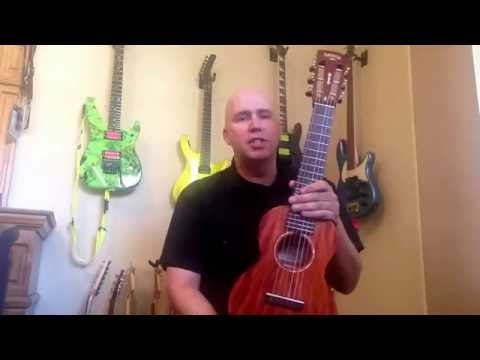 Gretsch six string Uke, or the best travel guitar of all time!