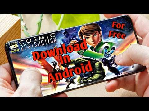 Download Ben 10 Ultimate Alien Cosmic Destruction In Android For Free  | Games For Psp