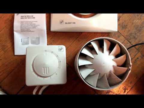 Тесты регулятора скорости вентилятора REB-1N и SB033(Питер)