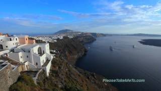 Fira - Santorini - Greek Islands, 1080 HD