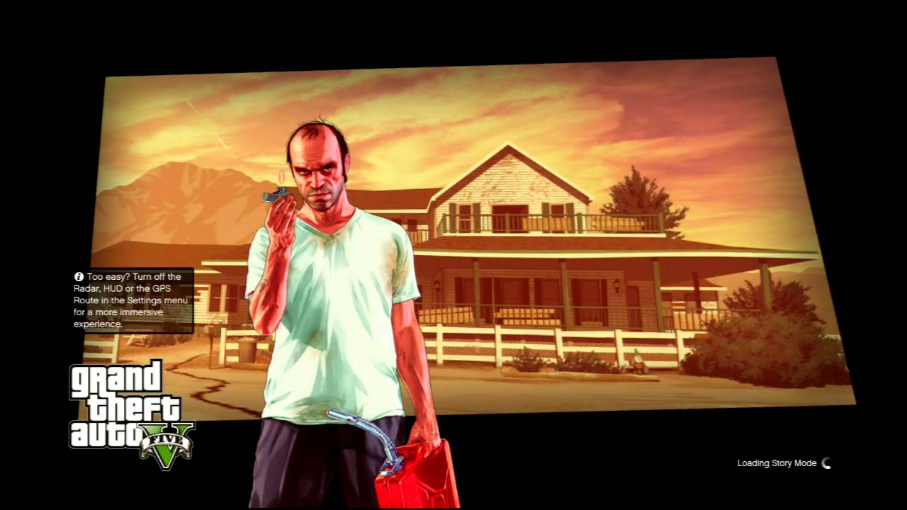 grand thef auto v official hd loading screen gta 5