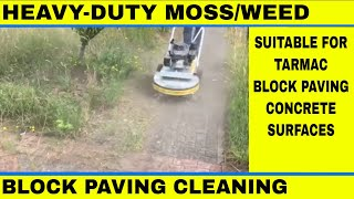 Westermann Moss Brush - Tarmac/block Paving/concrete Moss, Weed Removal