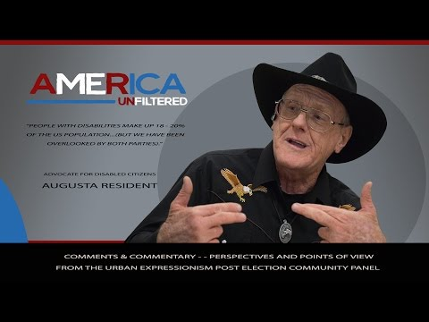 America Unfiltered - - Advocate for Disabled Citizens (Neither Party Has Considered Us)